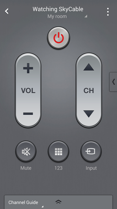 Remote Volume Control : How do i use my samsung galaxy device as a tv remote control