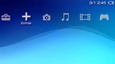 XrossMediaBar (XMB) in PSP