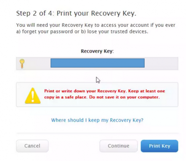 icloud set up two factor authentication