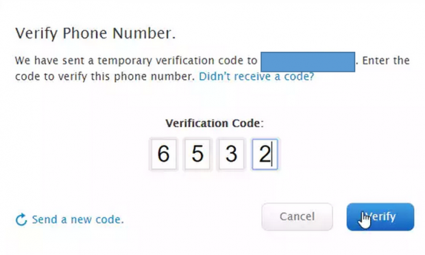 ipad configure icloud two factor authentication