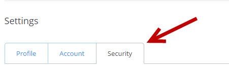 Dropbox Security Settings