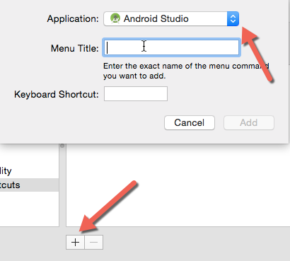create custom keyboard shortcuts OS X