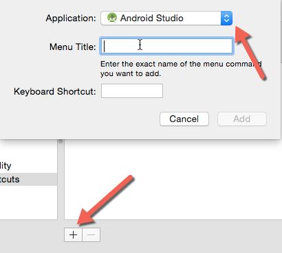 create custom keyboard shortcuts OS X