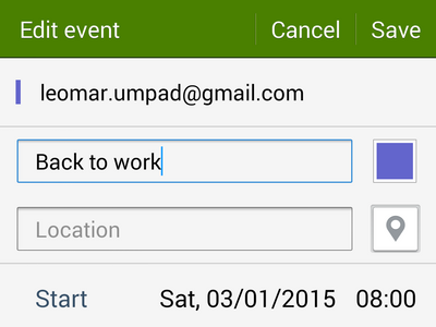 add details to edited task or event