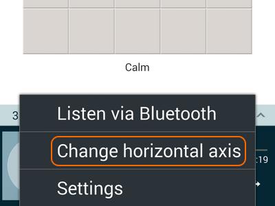 change horizontal access