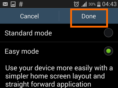 enable easy mode -Done