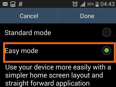 enable easy mode -easy mode