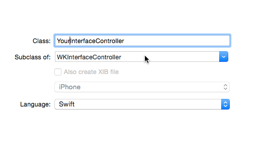 Create an interface controller