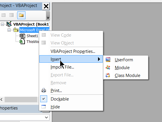 how to create excel custom function