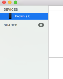 Image capture OS X