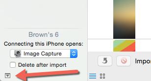 Image capture settings