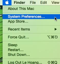 OS X System Preferences