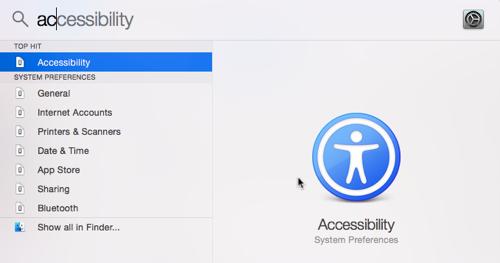 OS X Spotlight