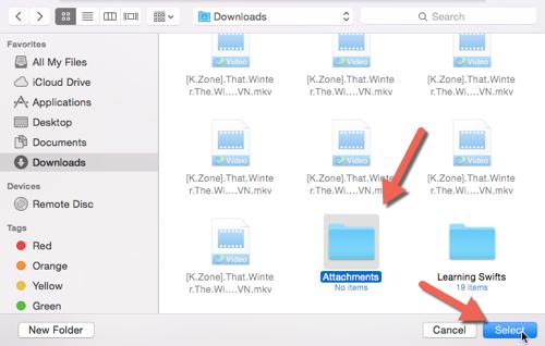 OS X Finder