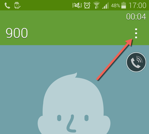 Add notes to call on Samsung phones