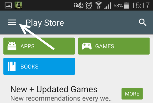 Play Store Settings