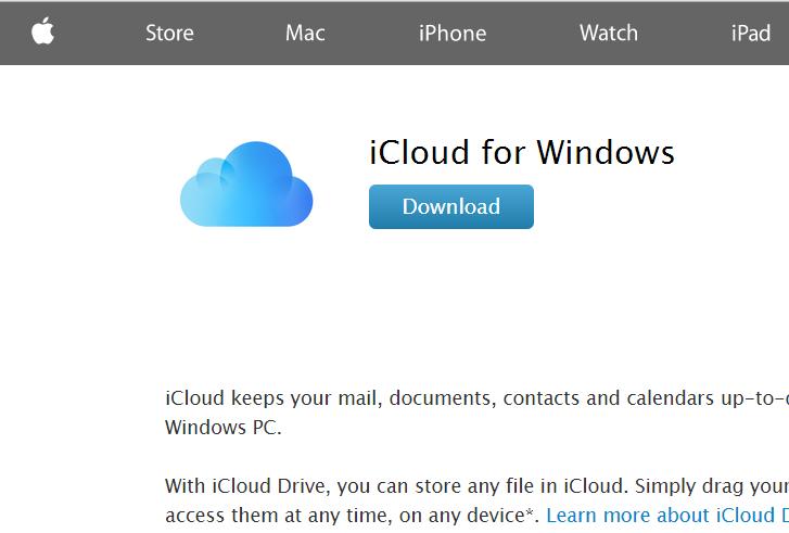 Set Up iCloud on Windows