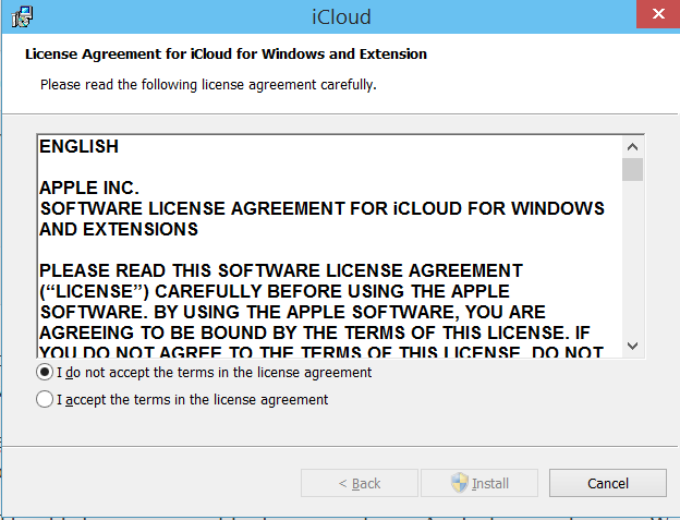 install icloud for windows