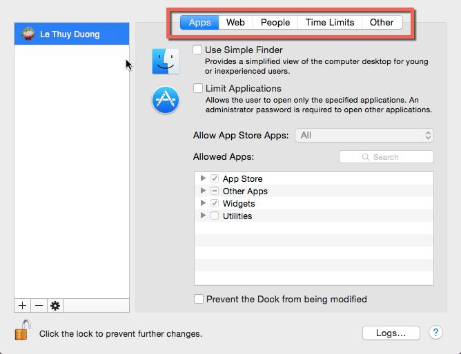 Block websites on OS X