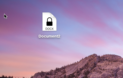 Protected doc document