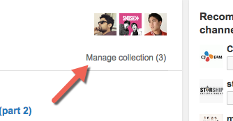 manage collection