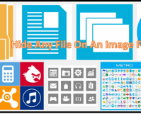 Cover Page - Hide Any File into a Picture