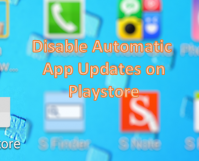 Featured Image - Disable Playstore Auto App Update