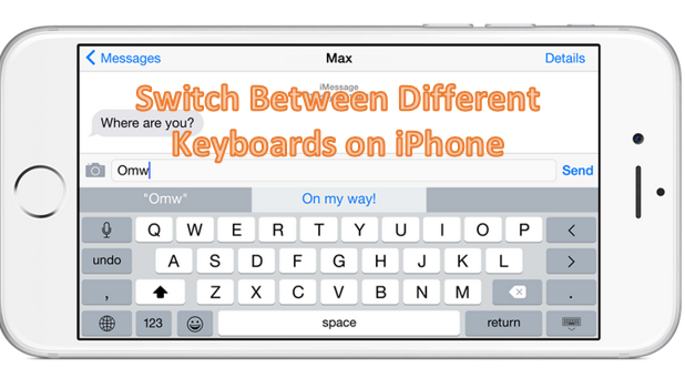 Switch Between Multiple Keyboards on iPhone
