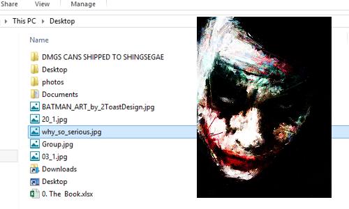 select image file