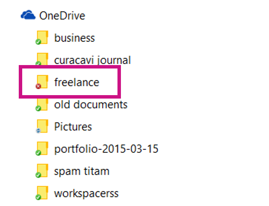 using the microsoft onedrive