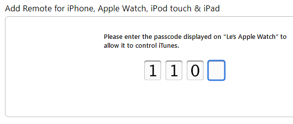 Apple Watch pair with iTunes