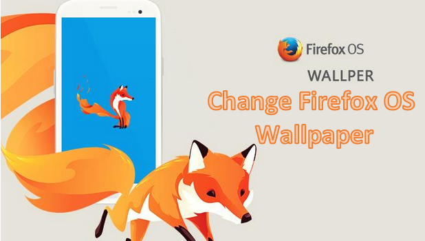 how do i change the wallpaper on my firefox os device