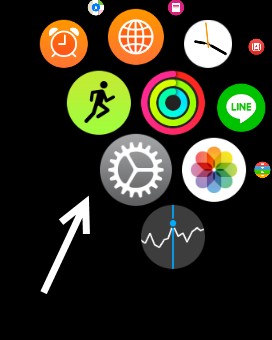 Apple Watch Settings app