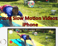 Record Slow Motion Video on iPhone