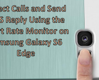 Reject and Send Auto-Reply SMS Using Heart Rate Monitor on Samsung Galaxy S6 Edge
