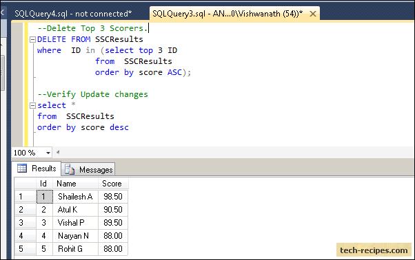 SQL_Server_Top_Clause_Delete