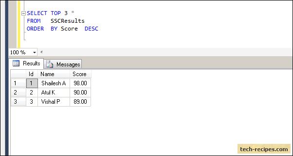 SQL_Server_Top_Clause_Screenshot2