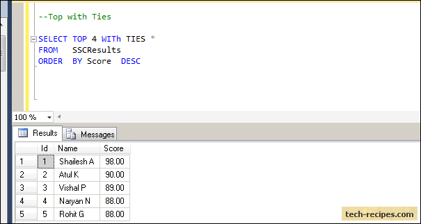 SQL_Server_Top_Clause_With_Ties_Screenshot3