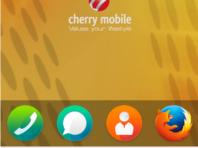 Firefox OS - Home Screen