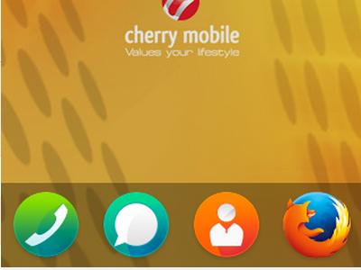 Firefox OS - Home Screen