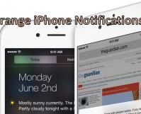 Manually Arrange iPhone Notifications