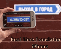 Real-Time Translation on iPhone