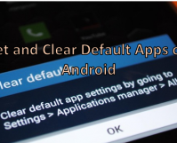 Set and Clear Default Apps on Android