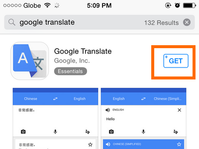 translate google translate text