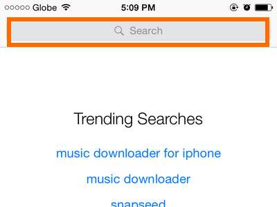 iPhone - App Store - Search for App