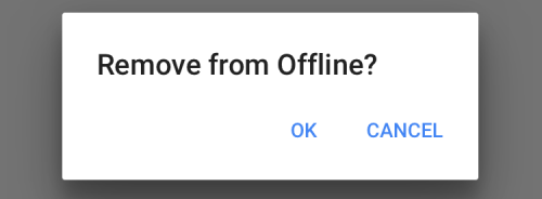 delete offline youtube videos
