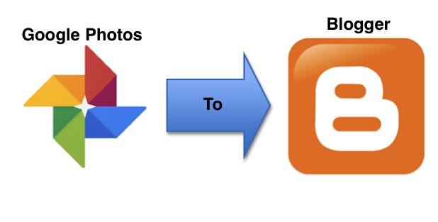 Google Photos to Blogger