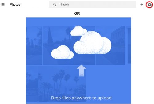Upload to Google Photos