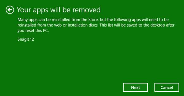 Reset Windows 10 Step 2