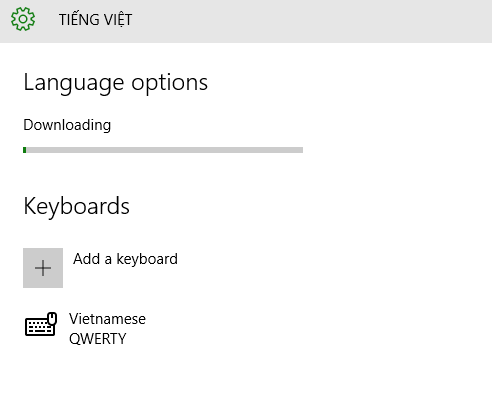 Windows 10 download and install language pack